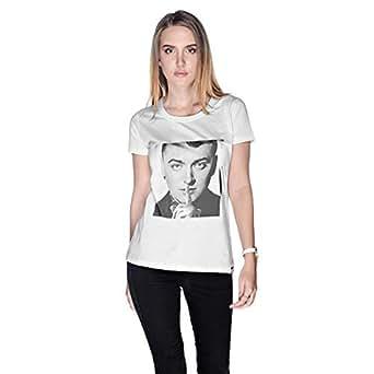 Creo Sam Smith T-Shirt For Women - M, White