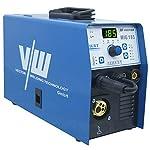 VECTOR-Saldatrice-MIG-185-Amp-230V-Gas-e-Gasless-MIGStickTIG-Saldatrice-MIG-Inverter-Saldatrice-a-Filo-Continuo-Attrezzatura-per-Saldatura-Professionale