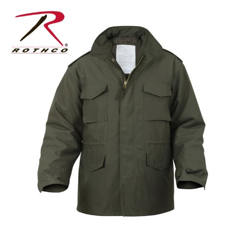 Rothco M-65 Field Jacket - Olive Drab, Large by Rothco