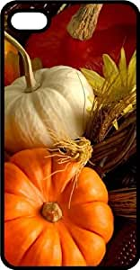 Fall Harvest With Gourds & Pumpkins Black Plastic Case for Apple iPhone 5c