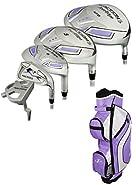 Tour Edge Golf- Ladies Reaction 3 Complete Set with Bag Graphite