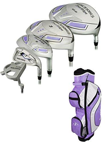 Tour Edge Golf Ladies Reaction 3 Complete Set With Bag Gr...