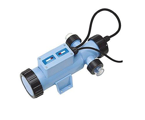 Blue Lagoon Regentonnen Double Trinkwasser Filter, 230 V, blau