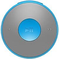 Philips GoGear MiniDot Mini 2GB Sound-Dot Portable MP3 Player with In-Ear Headphones, Blue (SA5DOT02BN)