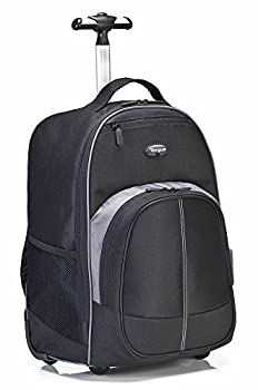 Targus Compact Rolling Backpack For 16-inch Laptops, Black (Tsb750us) 0