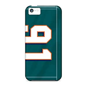 Brand New 5c Defender Case For Iphone (miami Dolphins)