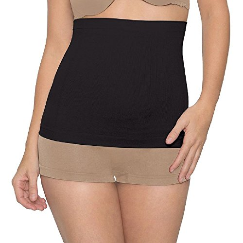 1 Shaper Slip (Youmita 3 in 1 Slimming Solution Body Shaper with Extended Sizes (PLUS SIZE, BLACK))