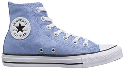 Star Shiny Taylor Clair High Top Femme Bleu Tile All Chuck Converse noir blanc wqgTxBg