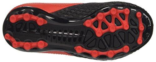 adidas Ace 17.3 Ag J, Botas de Fútbol Unisex Niños, Rojo/Negro Rojo (Red/footwear White/core Black)