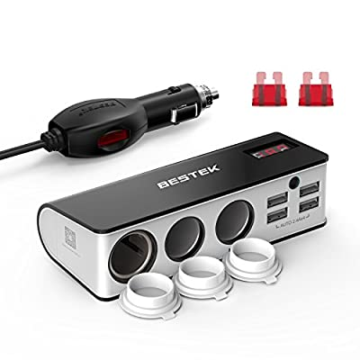 BESTEK MRS203BU Cigarette Lighter Adapter