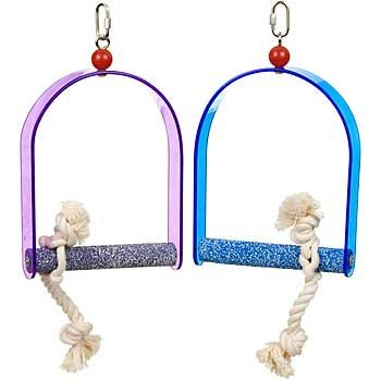 (Swing with Rope Cement Acrylic Medium - colors may vary by Penn-Plax)