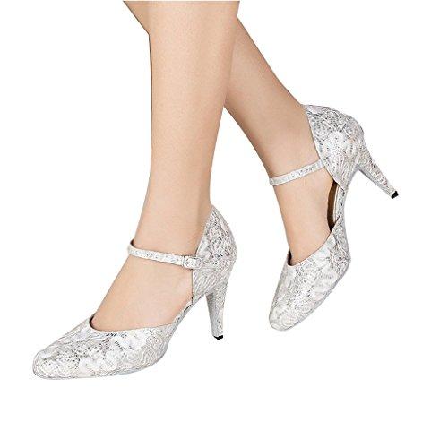 Donna 2 Alla Monie Women's Moderno Brillante Scarpe 4 Strappy 2 Sintetica Ballroom Da 4 Cinturino Modern Shoes Con Latino Salsa Latin Synthetic E Di Ballo Balla Dance Glittery qWF7EA
