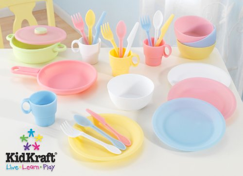 27 pc Cookware Playset - Pastel (27 Piece Cookware Playset - Pastel)