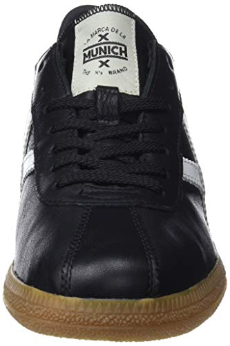 Basses Barru Munich Adulte Noir 30 Mixte Sneakers Blanco Negro fExwwHF