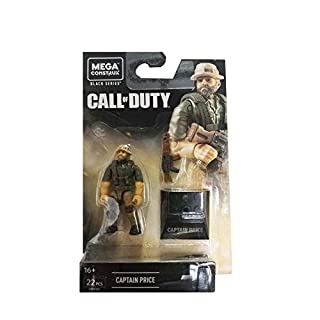 Mega Construx Call of Duty Black Series Captain Price Building Set
