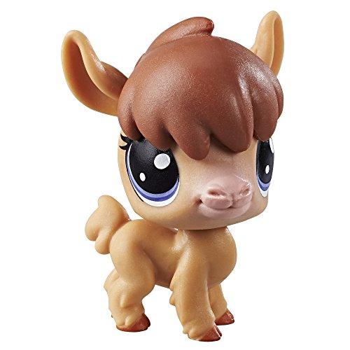 Littlest Pet Shop Single Pet (Alpaca) (Lps Hat Box)
