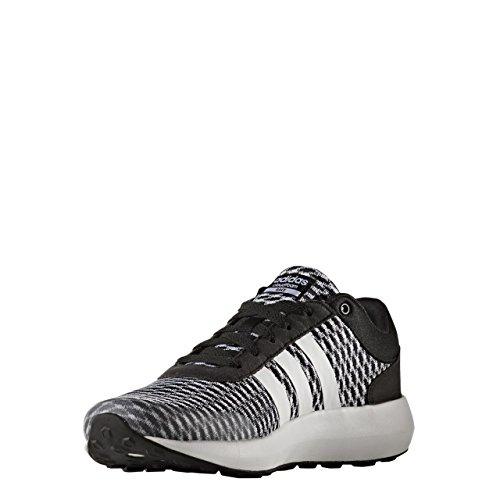 adidas Cloudfoam Race W, Sneaker Bas du Cou Femme, Noir (Negbas/Ftwbla/Negbas), 42 EU