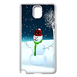 Snowman Samsung Galaxy Note 3 Cell Phone Case White Vaor