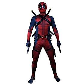 - 41UCW IOXEL - Hacostumes Unisex Superhero Lycra Spandex Zentai Halloween Cosplay Costumes Adult/Kids 3D Style