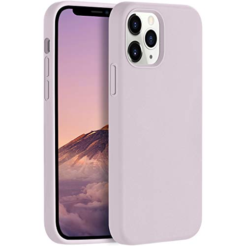 LEOMARON Compatible with iPhone 12 and iPhone 12 Pro Case 6.1 inch, Liquid Silicone Full Body Protection Cover Case with Soft Microfiber Cloth Lining for iPhone 12 and iPhone 12 Pro 2020