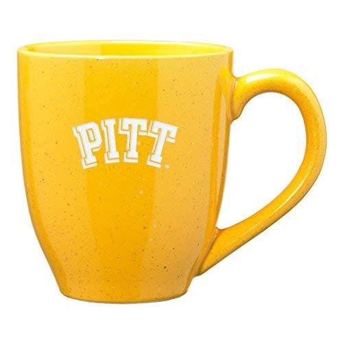 - University of Pittsburgh - 16-ounce Ceramic Coffee Mug - Gold