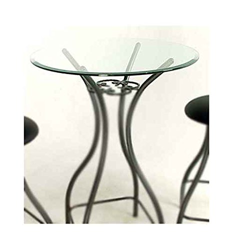 Glass Round Bistro/ Bar Table Top (24 in.) by Grace Collection
