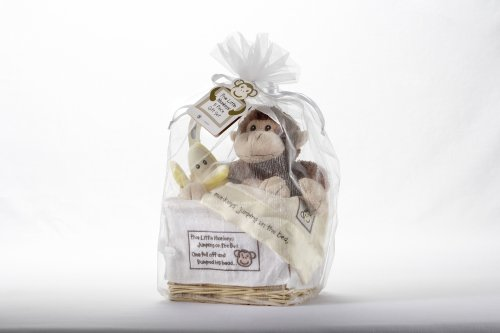 Baby Gift Kuwait : Baby aspen gift set with keepsake basket five little