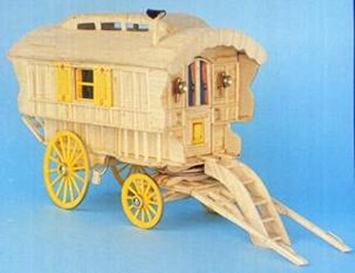 Ledge Caravan Matchstick Construction model Kit Match-Craft-