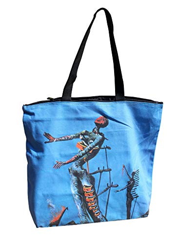 (RaanPahMuang Large Shopping Tote Bag Burning Giraffe Salvadore Dali)