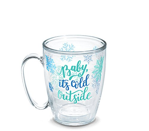 Tervis 1267730 Baby It's Cold Outside Insulated Tumbler with Wrap, 16oz Mug, Clear