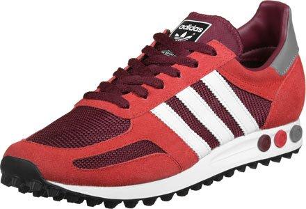 adidas Trainer OG, Scarpe da Ginnastica Basse Uomo rosso rosso vinaccia bianco
