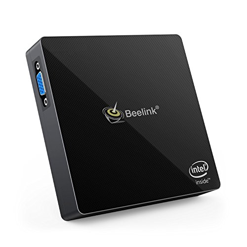 Mini PC, Pc Computer, 4K, 4GB/64GB, Mini Computer, Apollo Lake N3450 (up to 2.2 GHz), HD Graphics 500, Dual Output-VGA&HDMI, 1000Mbps LAN/ 2.4G+5.8G WiFi/ BT 4.0, HSYPC M1, Mini PC Windows by HSYPC (Image #7)