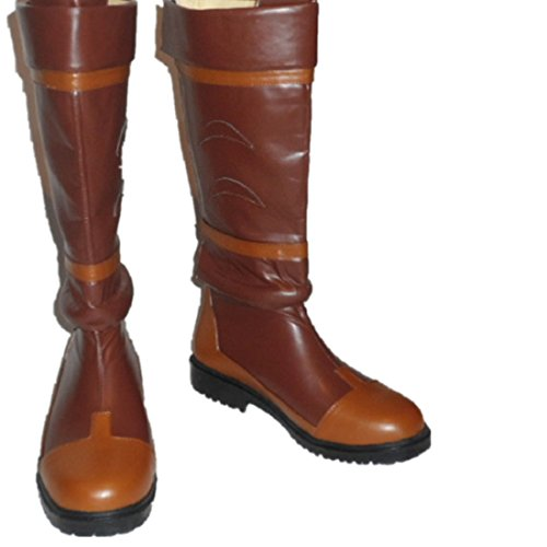 the-legend-of-zelda-link-anime-brown-cosplay-costume-boots-boot-shoes-shoe