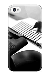 High Grade JennaCWright Flexible Tpu Case For Iphone 4/4s - Imi Desert Eaggle WANGJING JINDA
