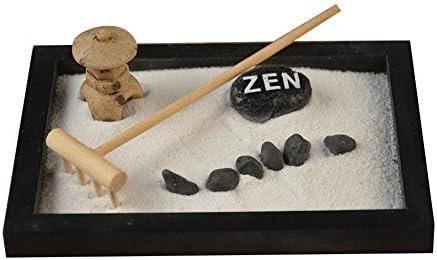 Following Juego de decoración de jardín de arena de Buda Zen con estatua elaborada, para decoración de relajación: Amazon.es: Electrónica