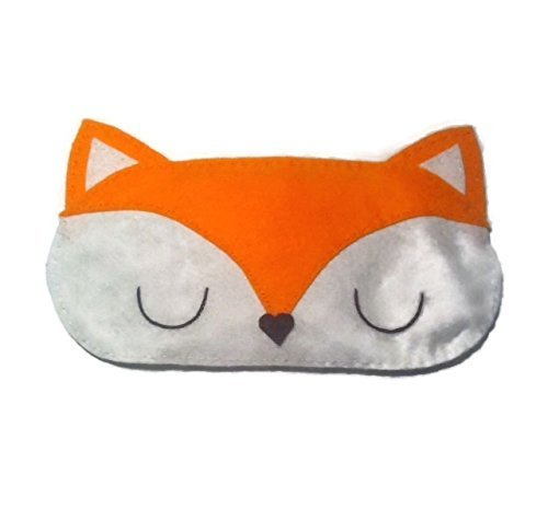 Cute Felt Fox Sleep Mask by NipNopsUK