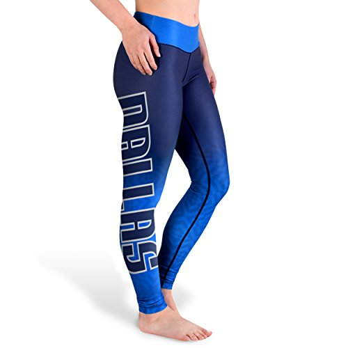 FOCO Dallas Mavericks Gradient Print Legging - Womens Extra Small by FOCO