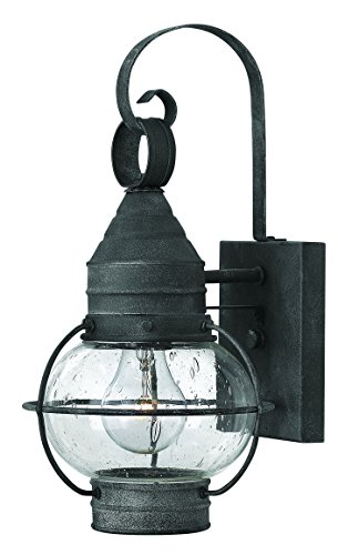 Hinkley 2206DZ Nautical One Light Wall Mount from Cape Cod collection in (Cape Cod Outdoor Fixture)