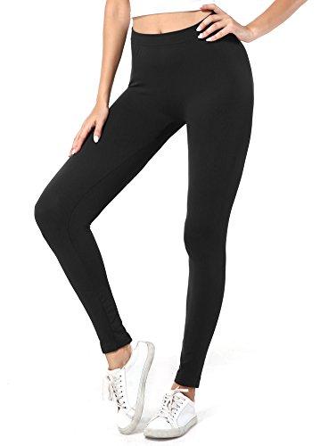 Joni Fashion Womens High Waist Basic Extra Soft Leggings Full Length Workout Yoga Pants