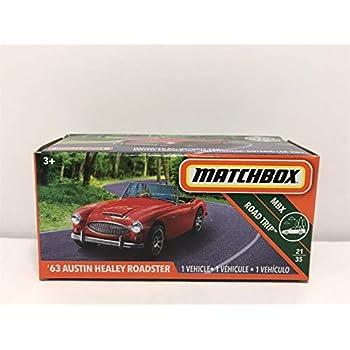 Amazoncom Matchbox 63 Austin Healey Roadster Red Box Road Trip