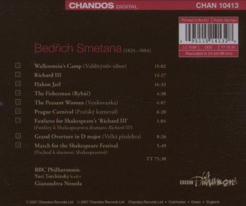 Smetana: Orchestral Works, Vol. 1