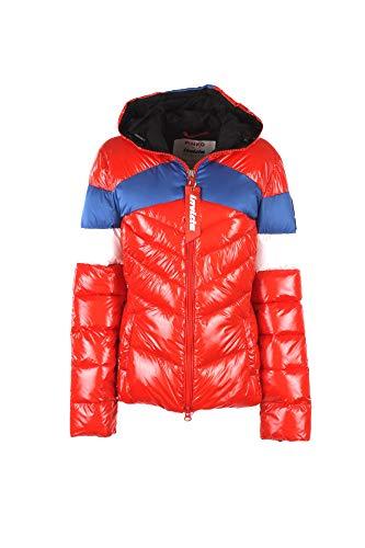 bluette bianco Cazadoras Pinko Rosso Abrigos Mujer Chaquetas Sci Y wpgx8Oq04