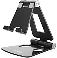 Adjustable Cell Phone Stand, licheers Multi-Angle Cell Phone Holder for Desk Compatible with Nintendo Switch, Phone 11...