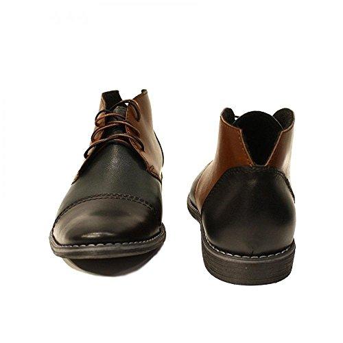 Modello Plinio - Handmade Colorful italiennes en cuir Shoes Chaussures Casual Formal Unique Vintage premium Bottes lacŽes Hommes Hauts