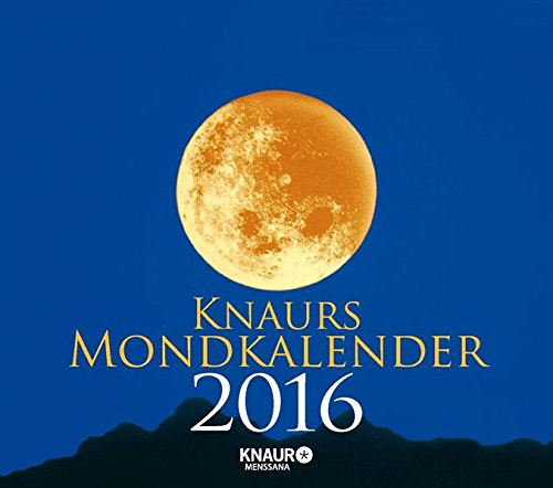 Knaurs Mondkalender 2016