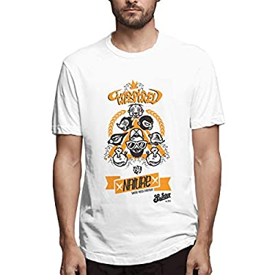 NINGFEI Men's Smoke Weed Everyday Short Sleeve T Shirts