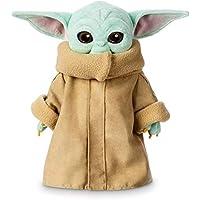 25/30cm Baby Yoda Plush Toy Wakes Master The Mandalorian Force Stuffed Doll Gift (25cm)