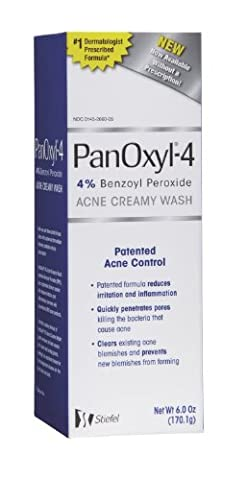 PanOxyl Acne Creamy Wash, 4% Benzoyl Peroxide (Pack of 2) (Benzoyl Peroxide Face)