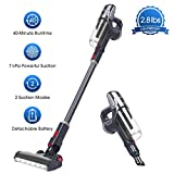 NOVETE Cordless Stick Vacuum, Ultralight 2-in-1 Cleaner with 2...