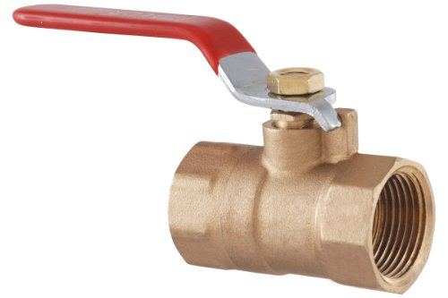 LDR 022 2205 1-Inch IPS Ball Valve, Lead Free Brass